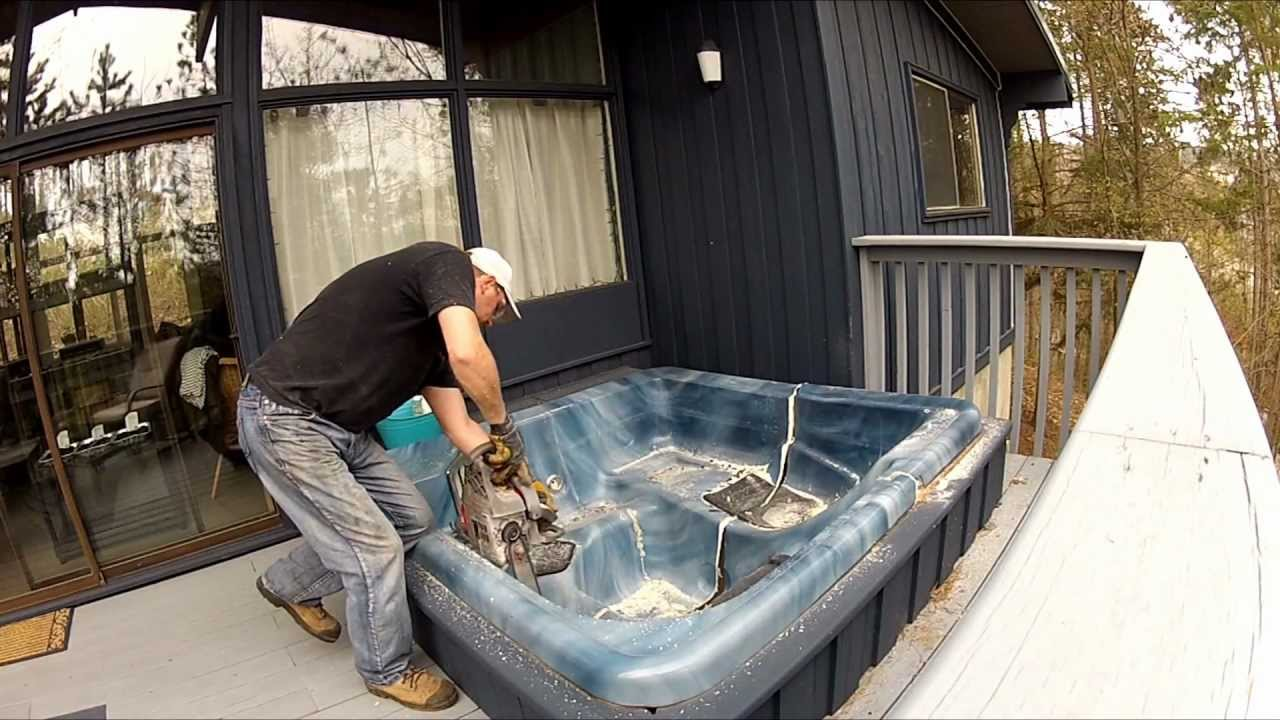 Hot Tub Disposal 101